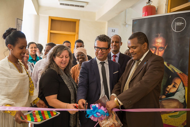 Maternal and New-born supplies handed over to Enhance Skills for Delivery in Ethiopia