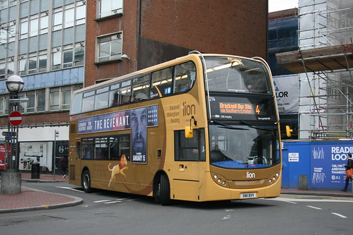 Reading Buses 214 on Route 4, Reading Station