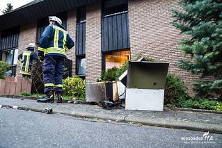 Küchenbrand in Hünstetten-Bechtheim 06.01.16
