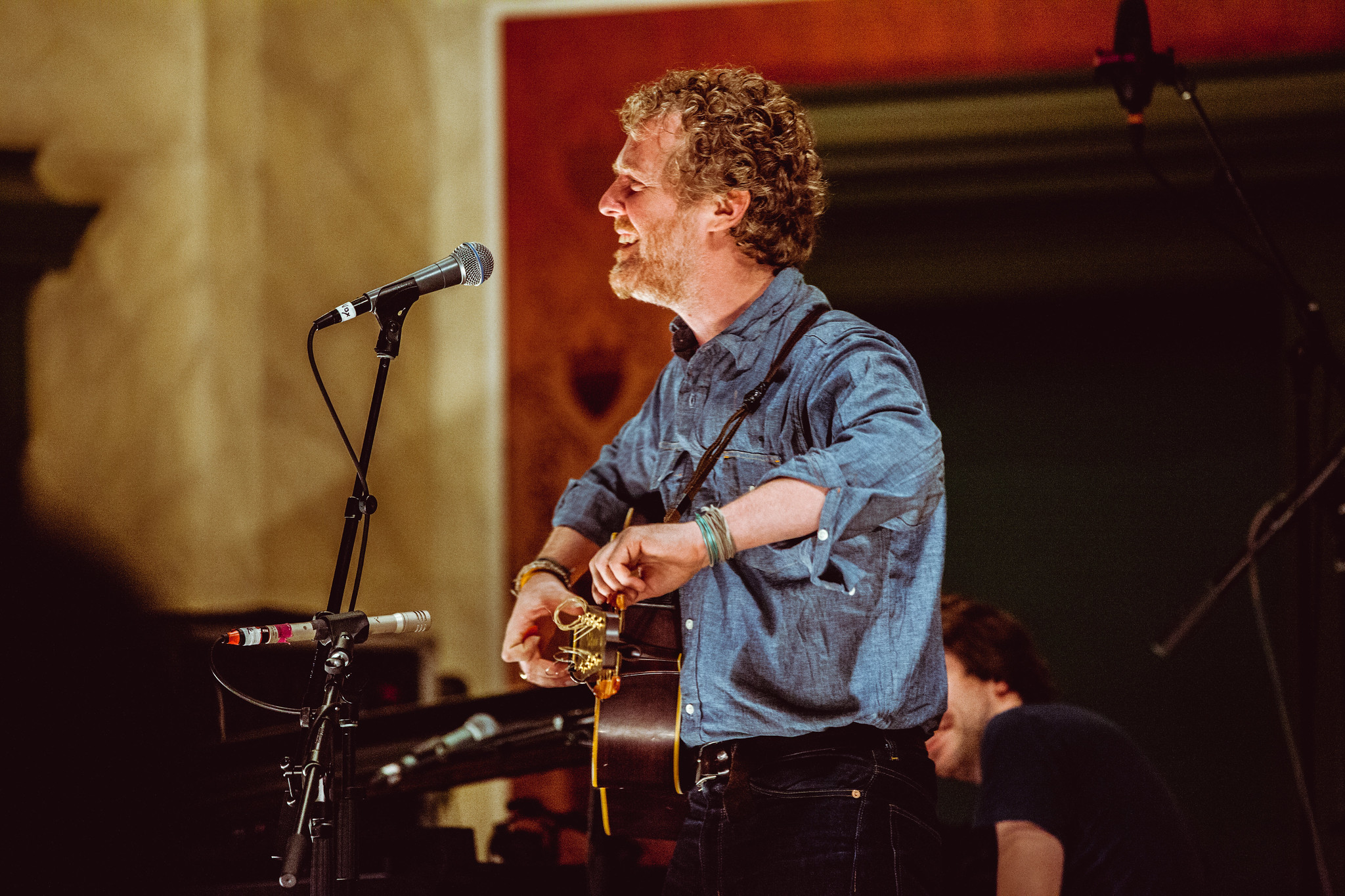 Glen Hansard w/ Bryce Dessner and Shara Worden