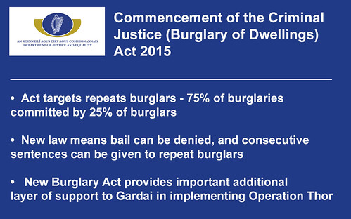 Criminal Justice (Burglary of Dwellings) Act 2015
