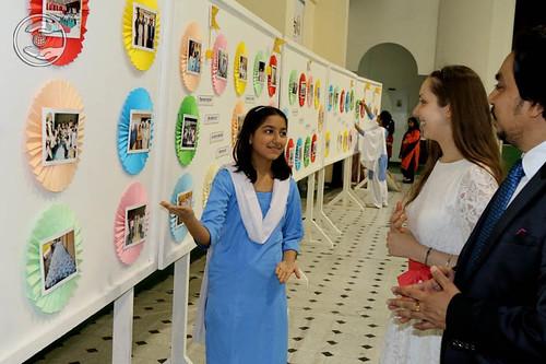 Devotees visits exhibition