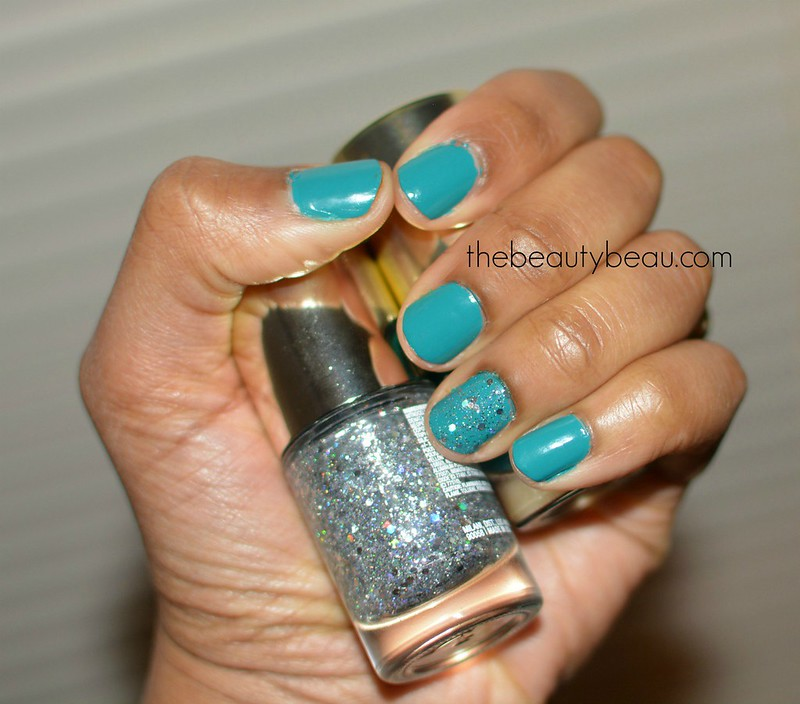 milani cosmetics tattle teal nail lacquer