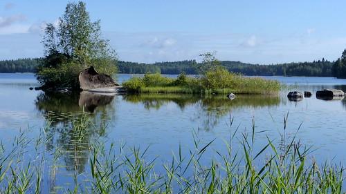 summer lake finland landscape geotagged august fin kouvola 2015 kymenlaakso kuusankoski sompanen 201508 20150827 geo:lat=6095741282 geo:lon=2661972283