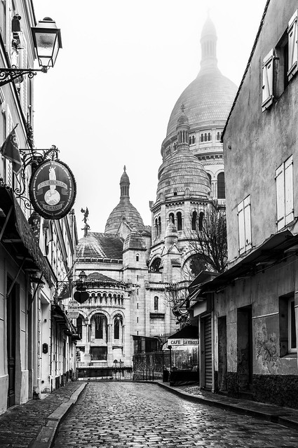 Montmartre, misty dome 2