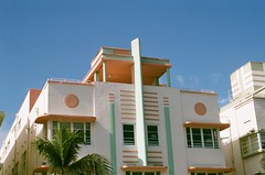 Art Deco Architectural Detail South Beach