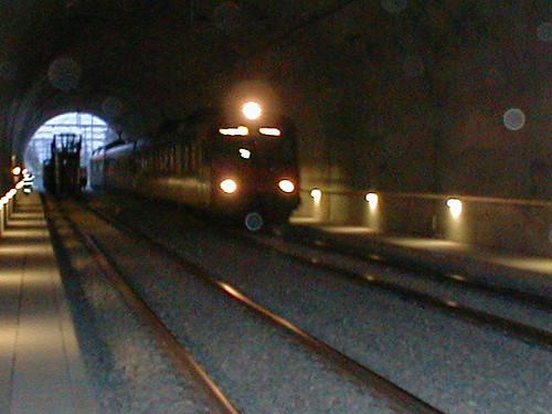 Inbetriebnahme neuer Tunnel Vauderens