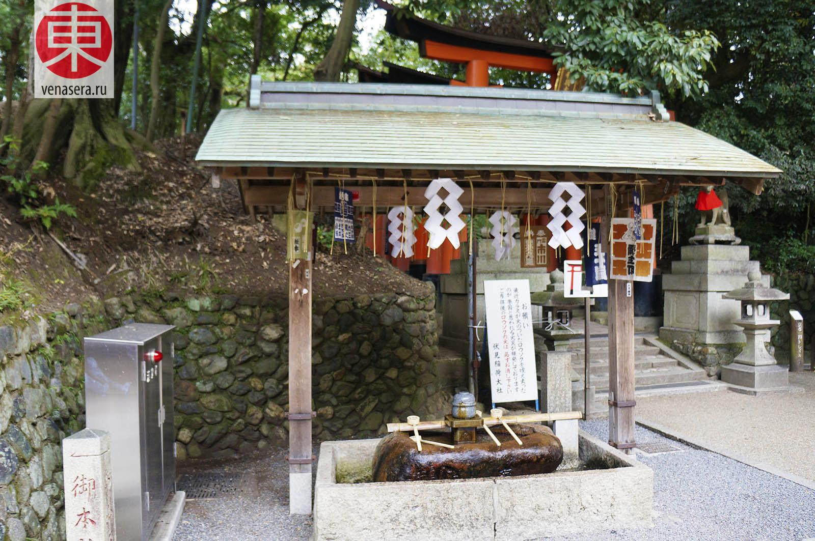 Фусими Инари в Киото, 伏見稲荷, Киото, Kyoto, 京都, Япония, Japan, 日本.