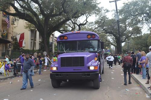Purple Party Bus