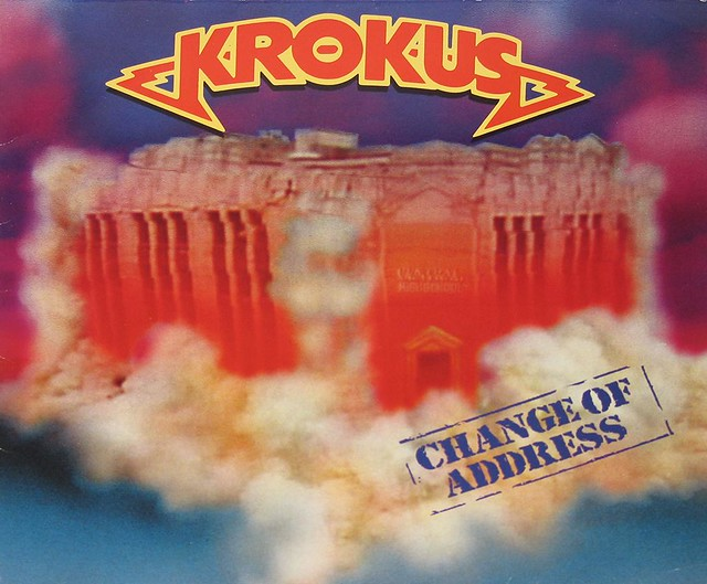 "KROKUS CHANGE OF ADDRESS 12"" VinyL LP"