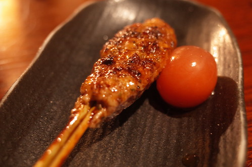 つくね Tsukune meat ball & egg