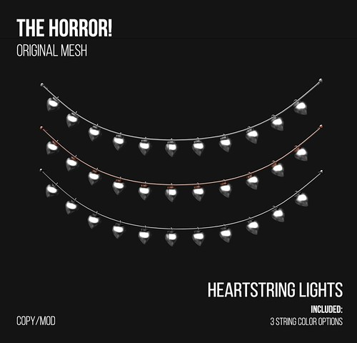 The Horror!~ Heartstring Lights @ XOXO