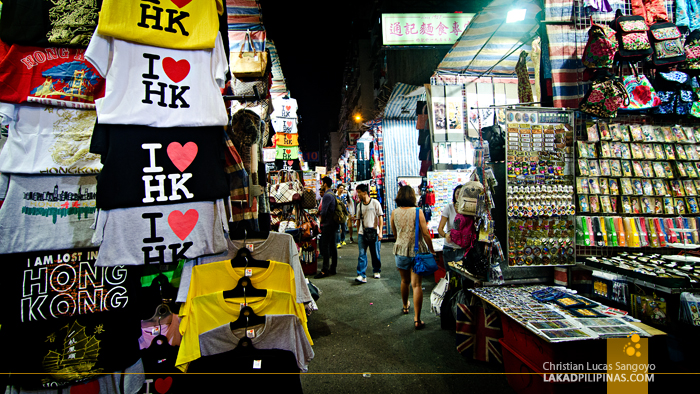 Hong Kong Walk Ladies Market