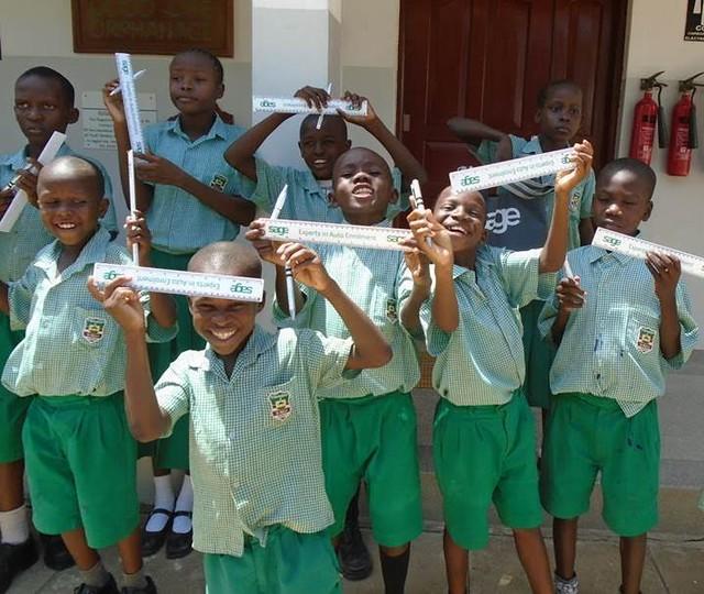 Donations from Sage, Asante Sana