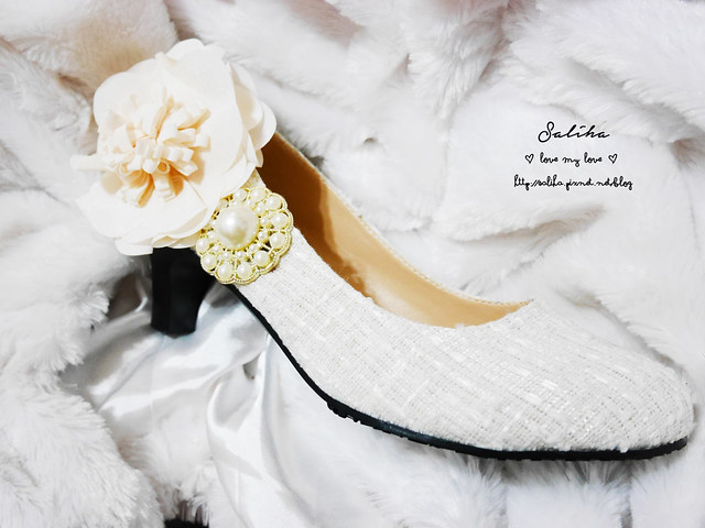 結婚新娘婚禮婚鞋diy (11)
