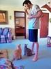 My Son and my Cats Pets Cute Kitties Felines Funny Family Home Streamzoofamily
