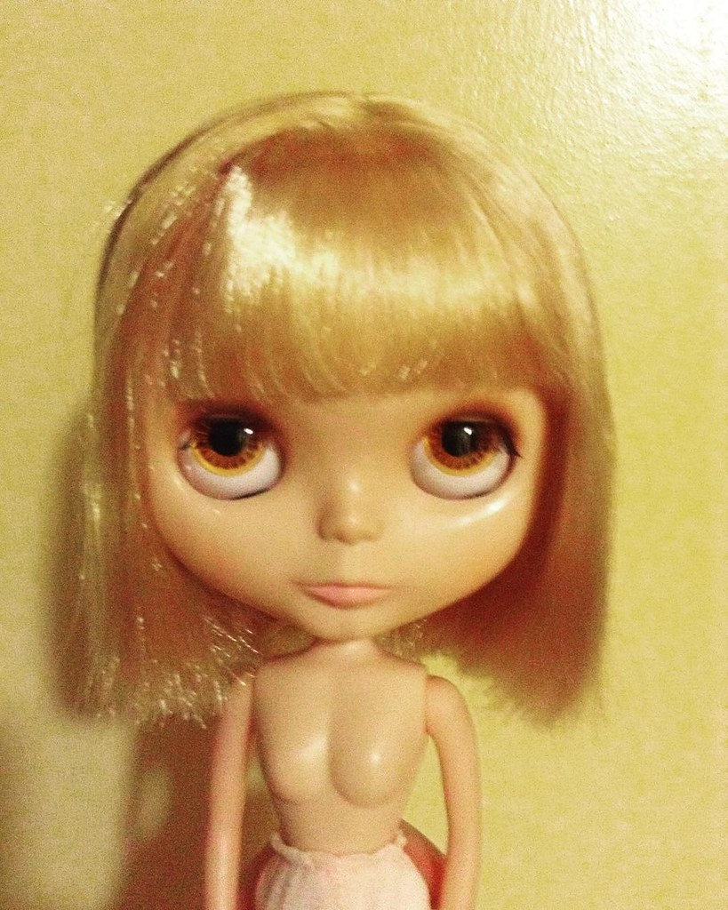 Dolly hair help! Bought this little girl with a choppy