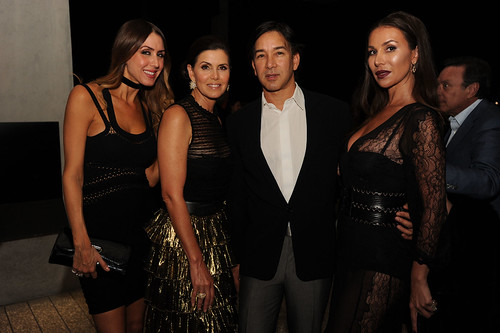 Christy Martin, Darlene Perez, Rene Ruiz, & Andreea Baclea at PAMM Art of the Party