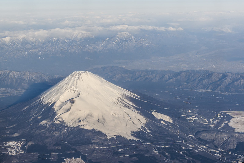 Mt.FUJI from JAL453