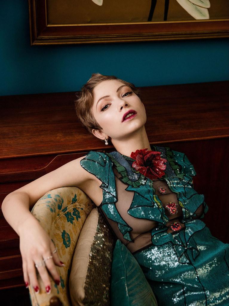 Тави Гевинсон — Фотосессия для «Vanity Fair» 2016 – 1