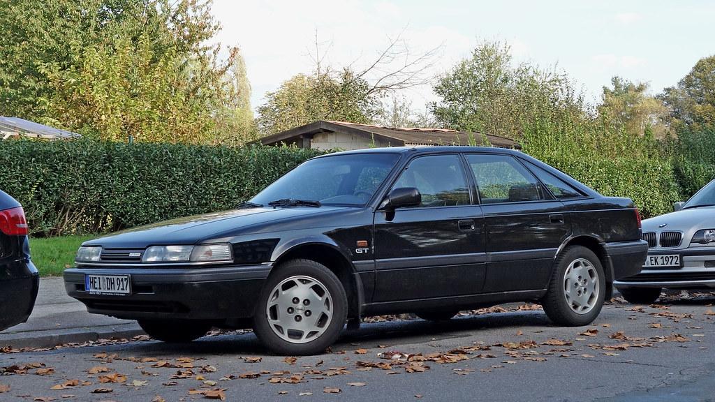 mazda 626 gt hatchback (gen-4, eu-version, 1987-92) | flickr