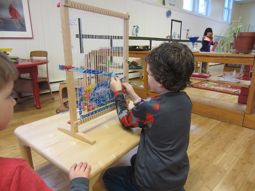 weaving fish