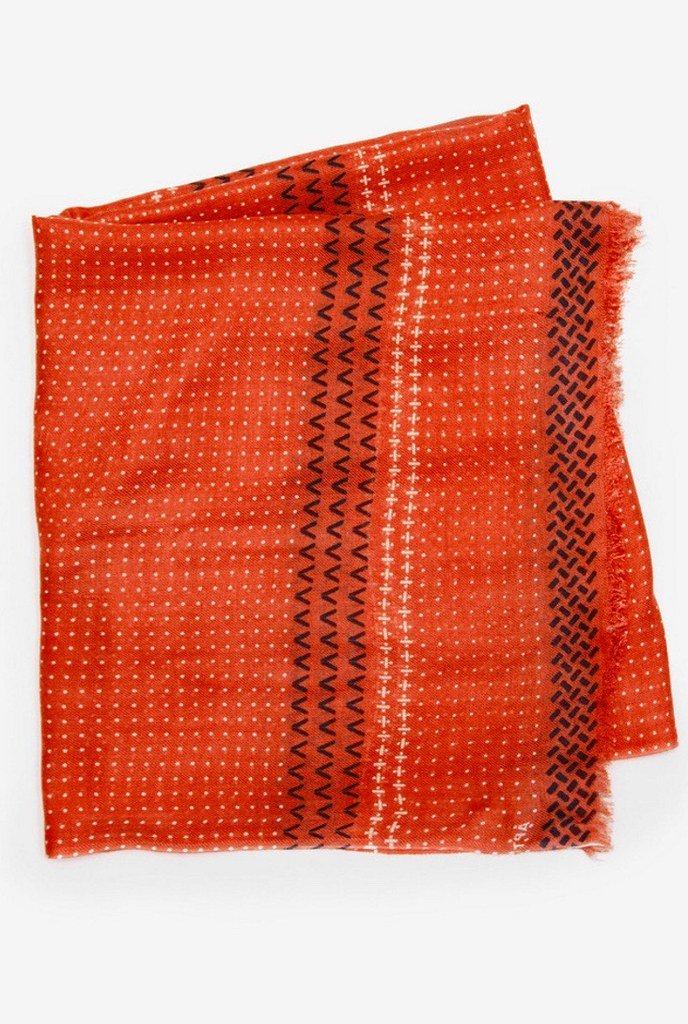 Chia Red Scarf