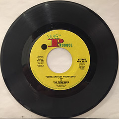 THE TEMPREES:COME AND GET YOUR LOVE(RECORD SIDE-A)