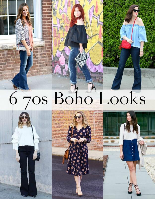 6 70s Boho Looks