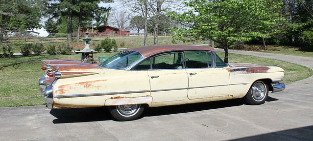 1959 Cadillac series 62 six window sedan