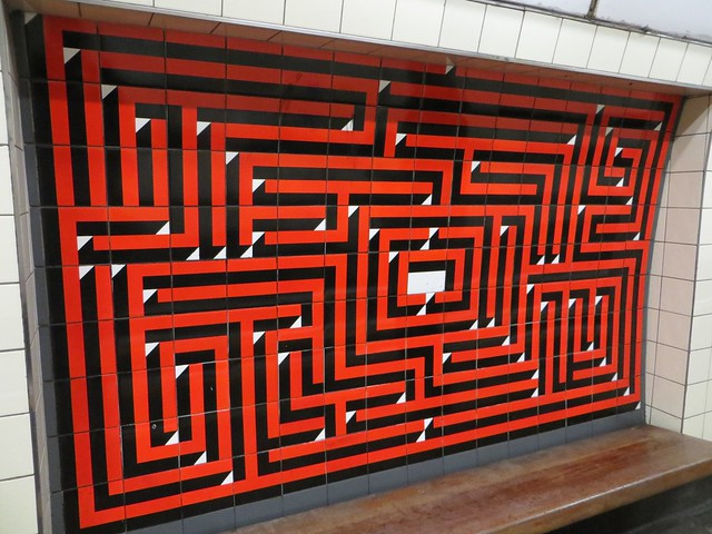 Warren Street tiles