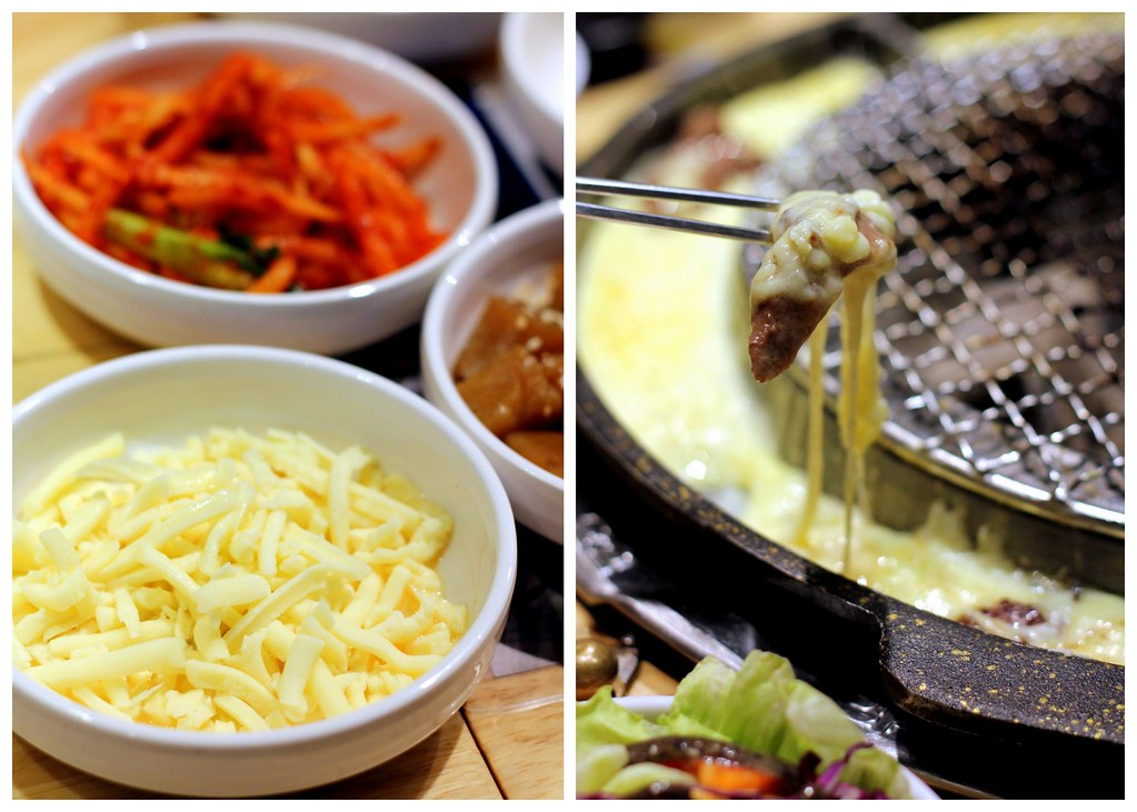 Korean BBQ Singapore: Seorae Singapore Cheese Dipping