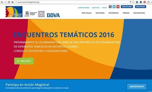 Premio Acción Magistral 2016