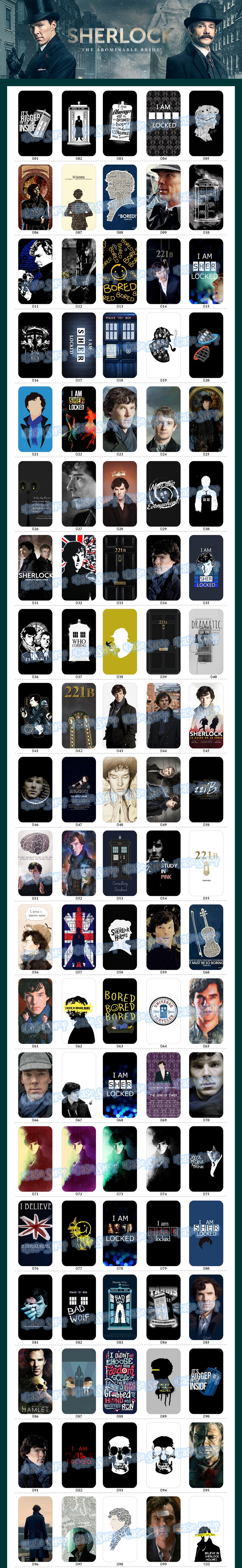 福爾摩斯夏洛克 手機殼iPhone X 8 7 Plus 6S 5s 三星A7 J7 E7 S8 S7 Note 8 5
