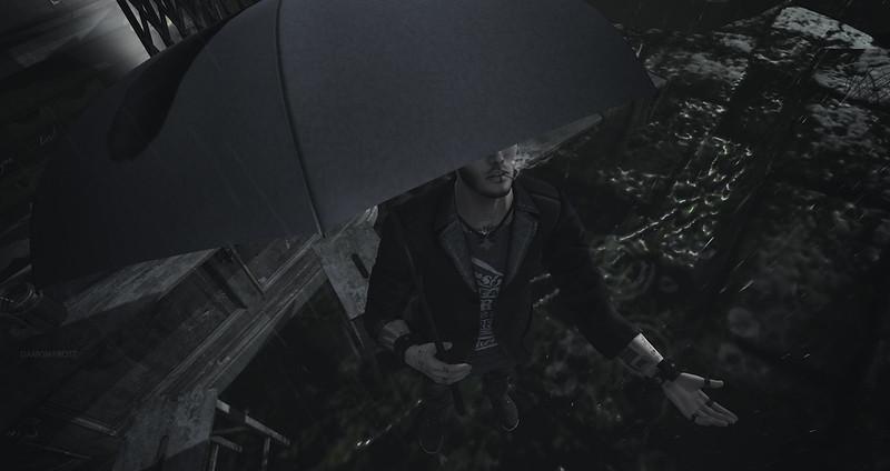 Kiss the rain whenever you need me