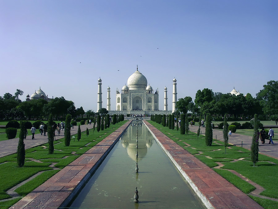 Тадж-Махал, Агра – авторские путешествия в Индию