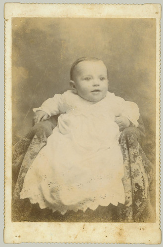 Baby cabinet card