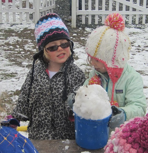 bucket 'O snow