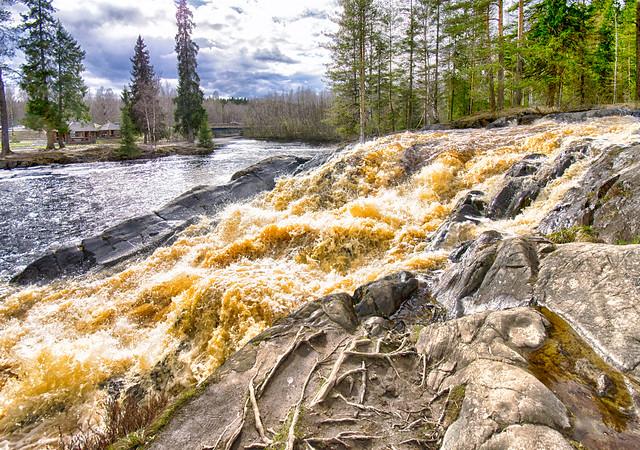Ahvenkoski Rapids, Karelia Пороги Ахвенкоски, Карелия