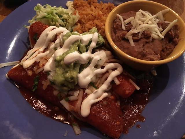 Pollo asado enchiladas - The Little Chihuahua