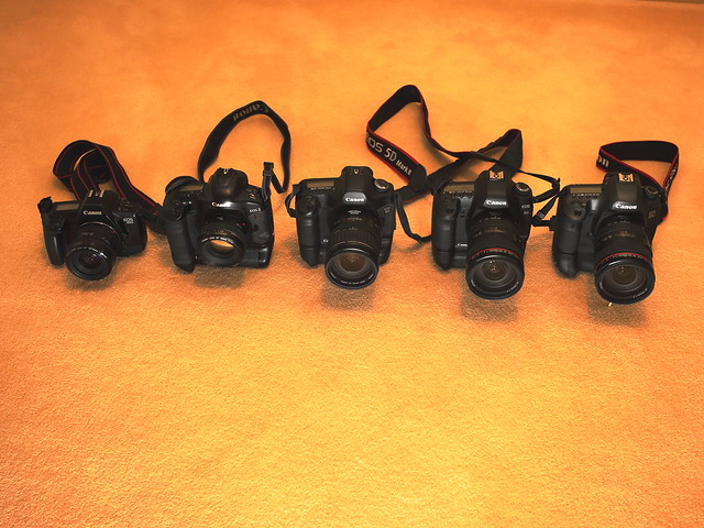28 years of Canon EOS