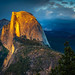 Half Dome Sunset - Glacier Point by Mike Filippoff