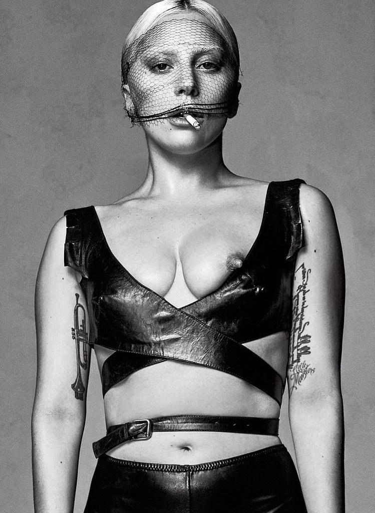 Леди Гага — Фотосессия для «V» SK 2016 – 1