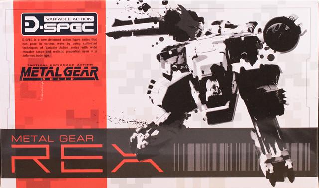 レビュー メガハウスD-SPEC メタルギアREXで遊んでみた