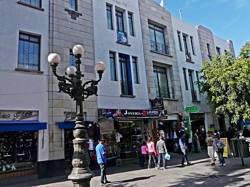 F07a Puebla pedestrian street
