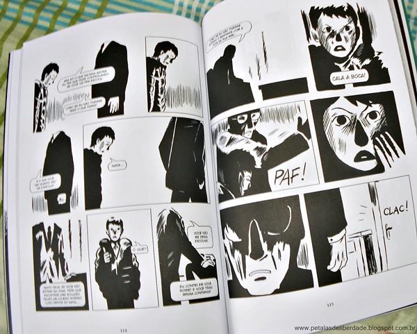 Resenha, hq, graphic novel, trecho, ler, O muro, Fraipont e Baily, Nemo, imagens, fotos