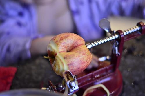 Compote de pommes et gelée