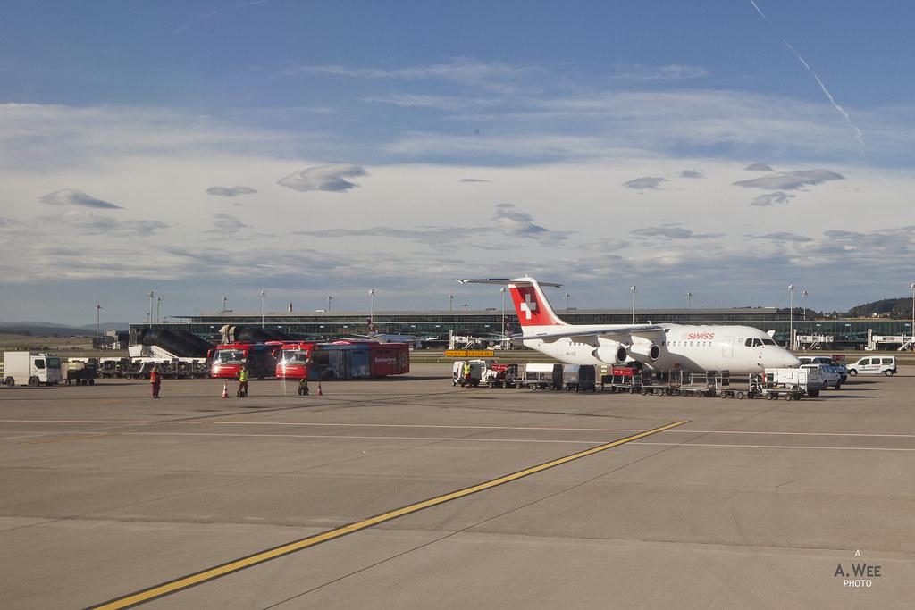 Swiss Air BAe 146