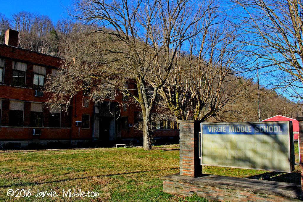 Virgie High School -- Virgie, KY