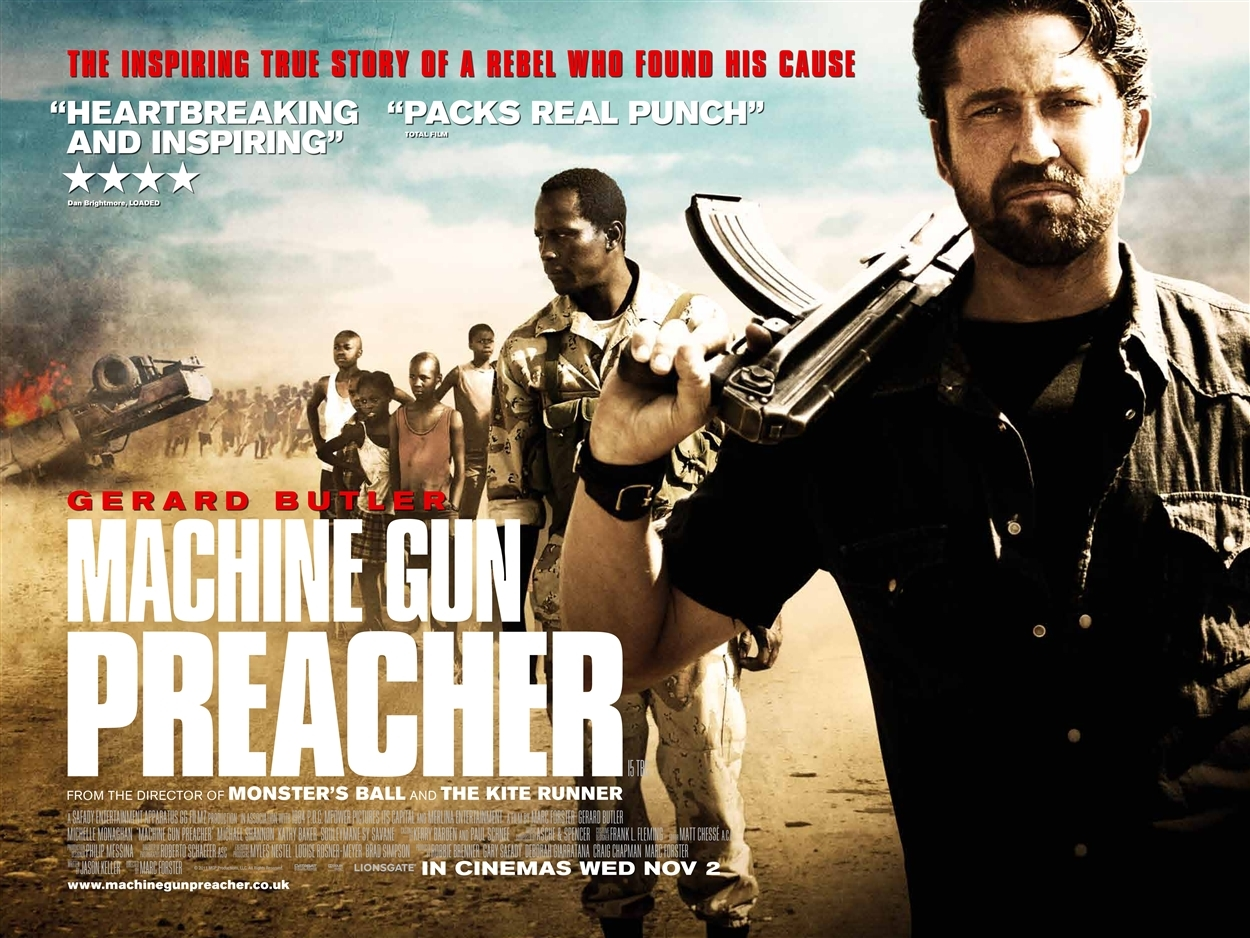 Gerard Butler In «Machine Gun Preacher»